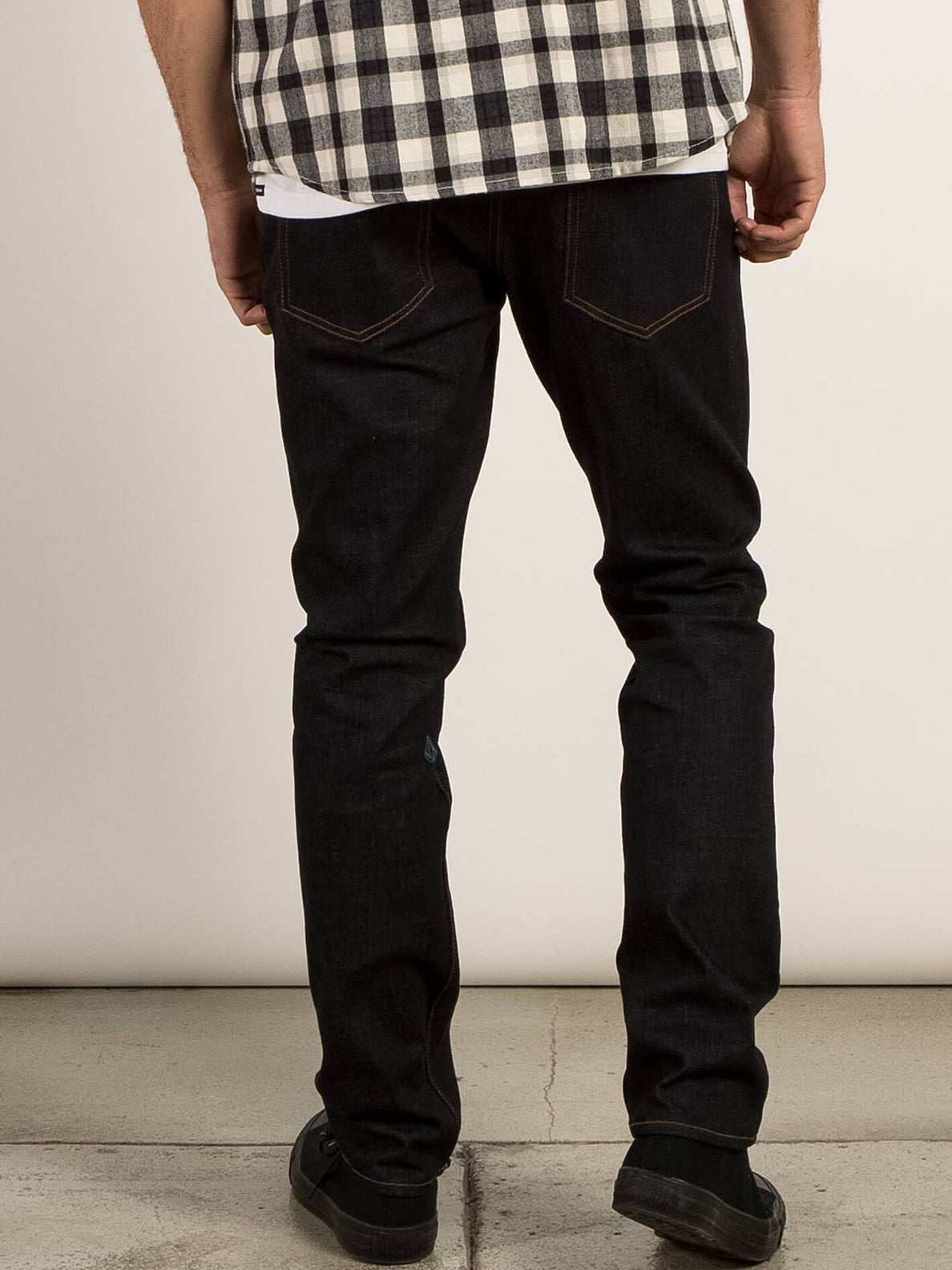 Solver Modern Tapered Jeans In Stretch Dry, Back View