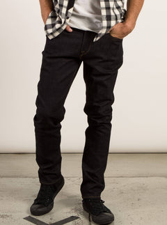 Solver Modern Tapered Jeans In Stretch Dry, Front View