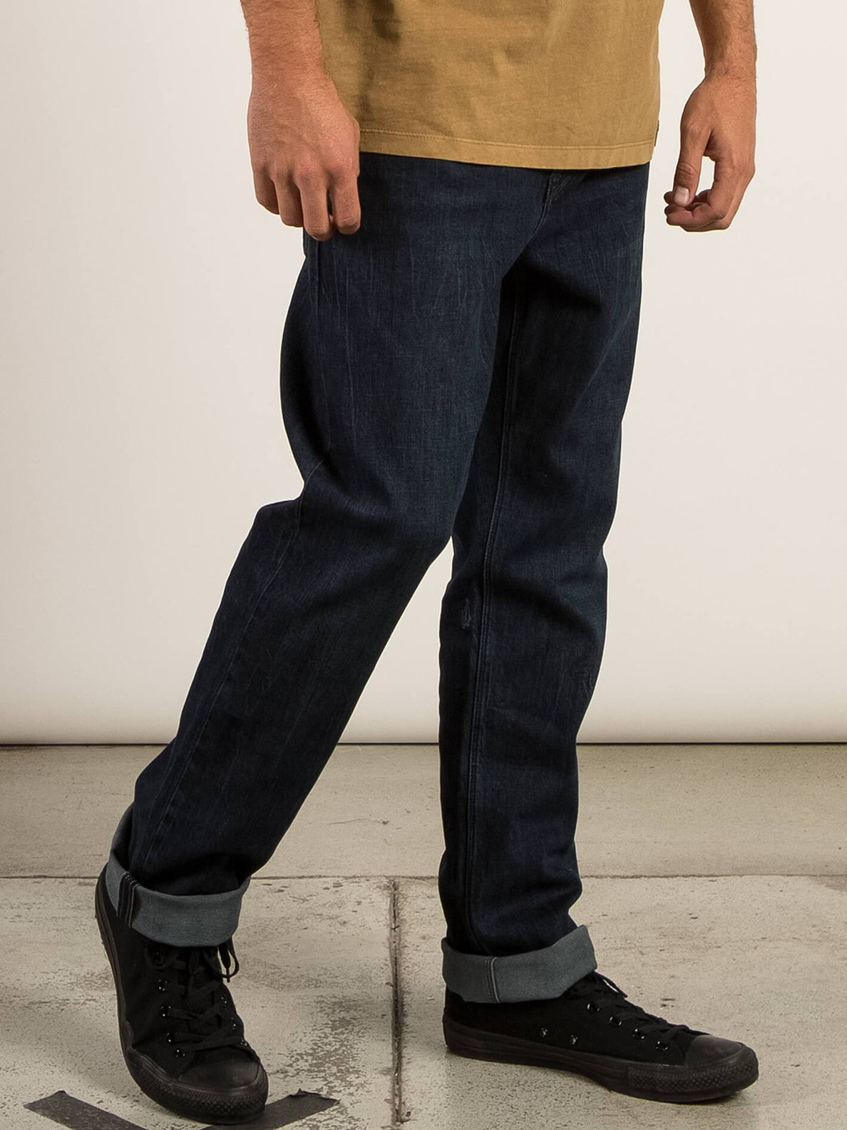 Kinkade Regular Tapered Jeans In Matured Blue, Alternate View