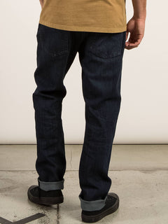 Kinkade Regular Tapered Jeans In Matured Blue, Back View