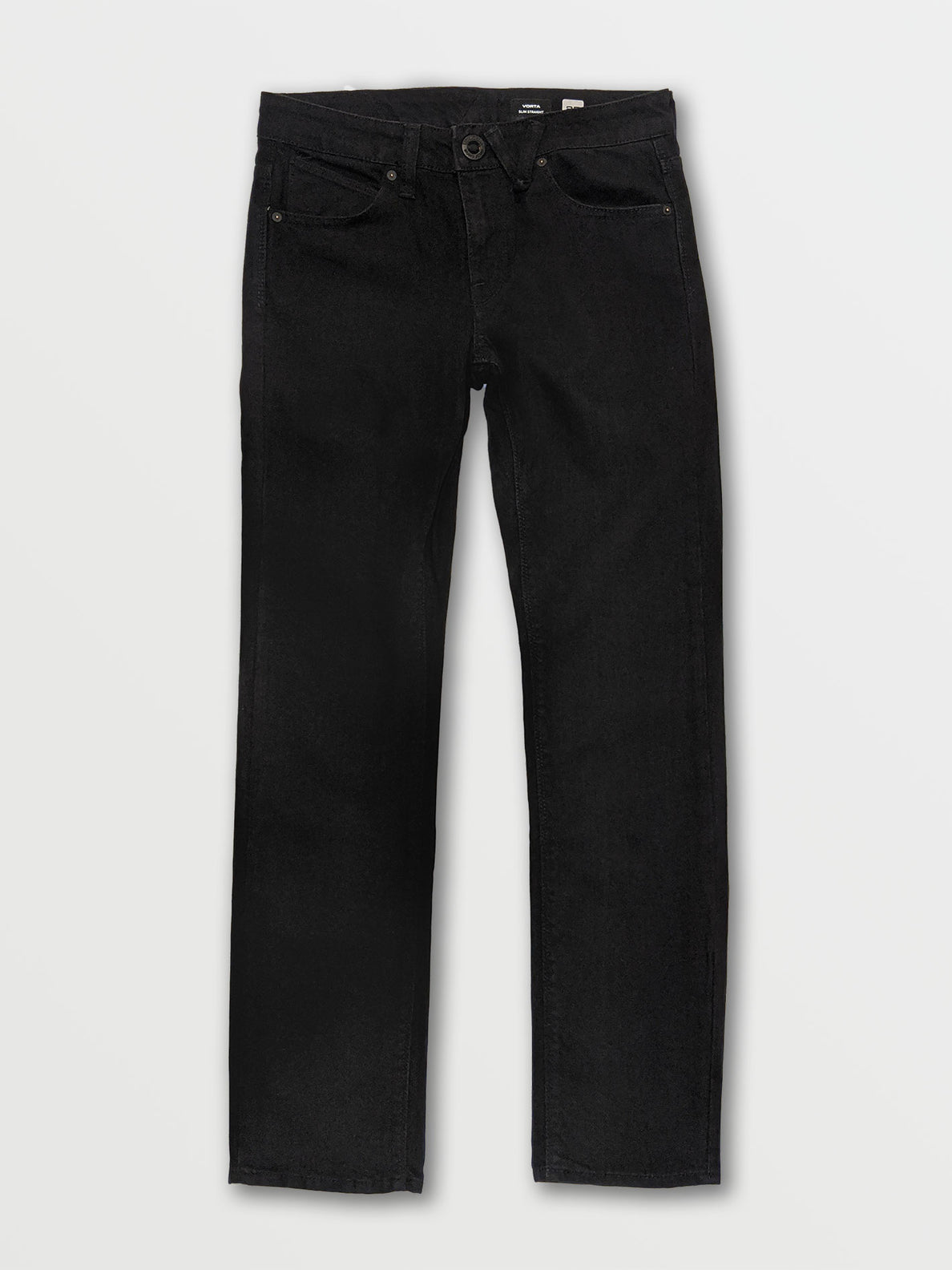 V Slim Stretch Jeans - Black