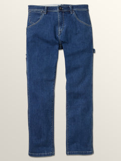 Whaler Regular Fit Jeans In Washed Blue, Third Alternate View