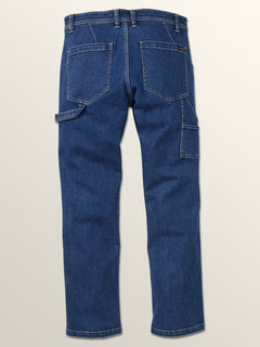 Whaler Regular Fit Jeans In Washed Blue, Fourth Alternate View