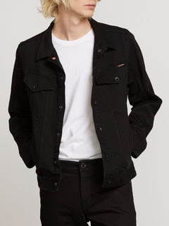Weaver Denim Jacket - Black (A2111900_BLK) [1]