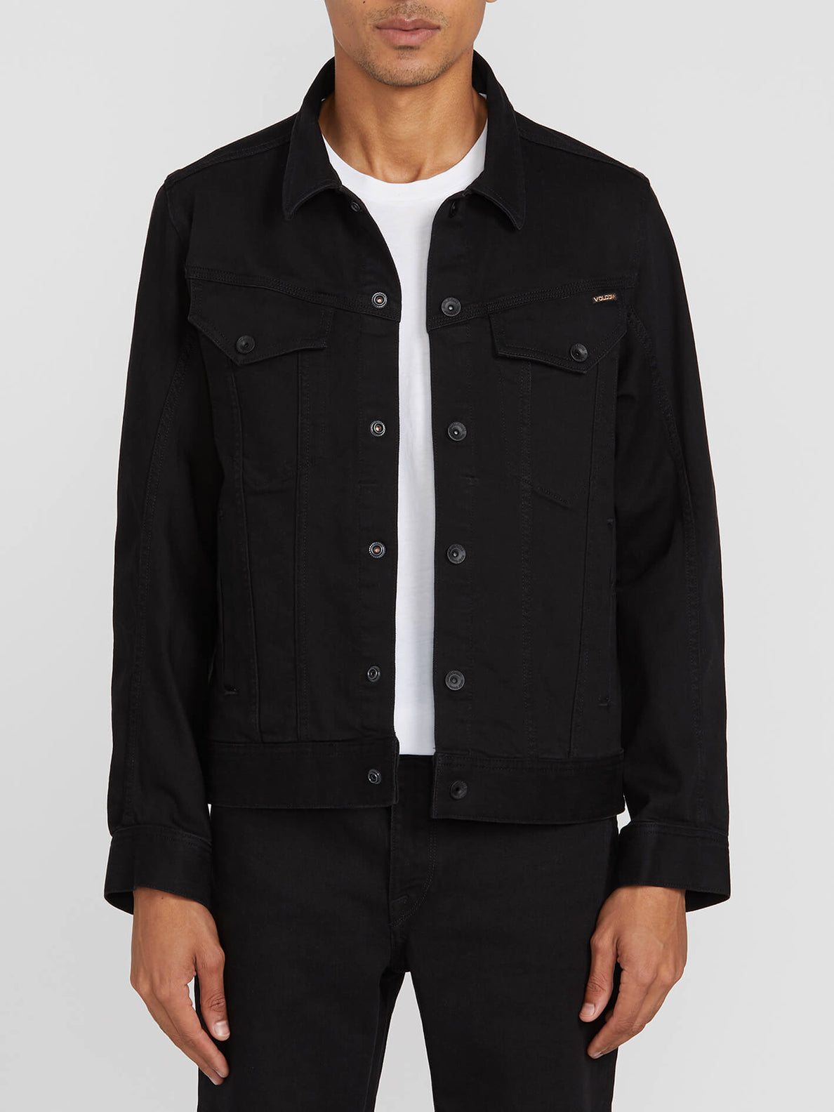Weaver Denim Jacket - Black (A2111900_BLK) [2]