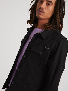 Weaver Jean Jacket - Black (A2111900_BLK) [5]