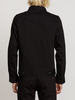 Weaver Denim Jacket - Black (A2111900_BLK) [B]