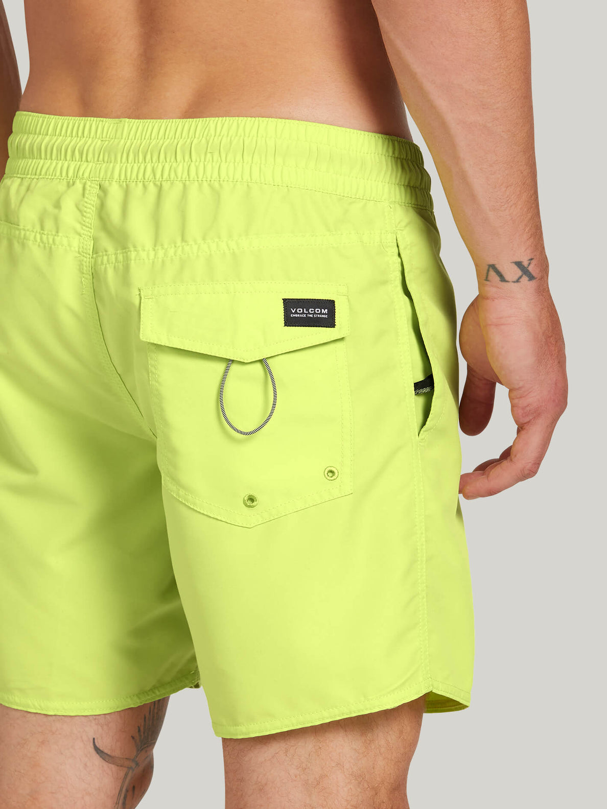 Lido Solid Trunks - Hilighter Green (A2512005_HIG) [4]