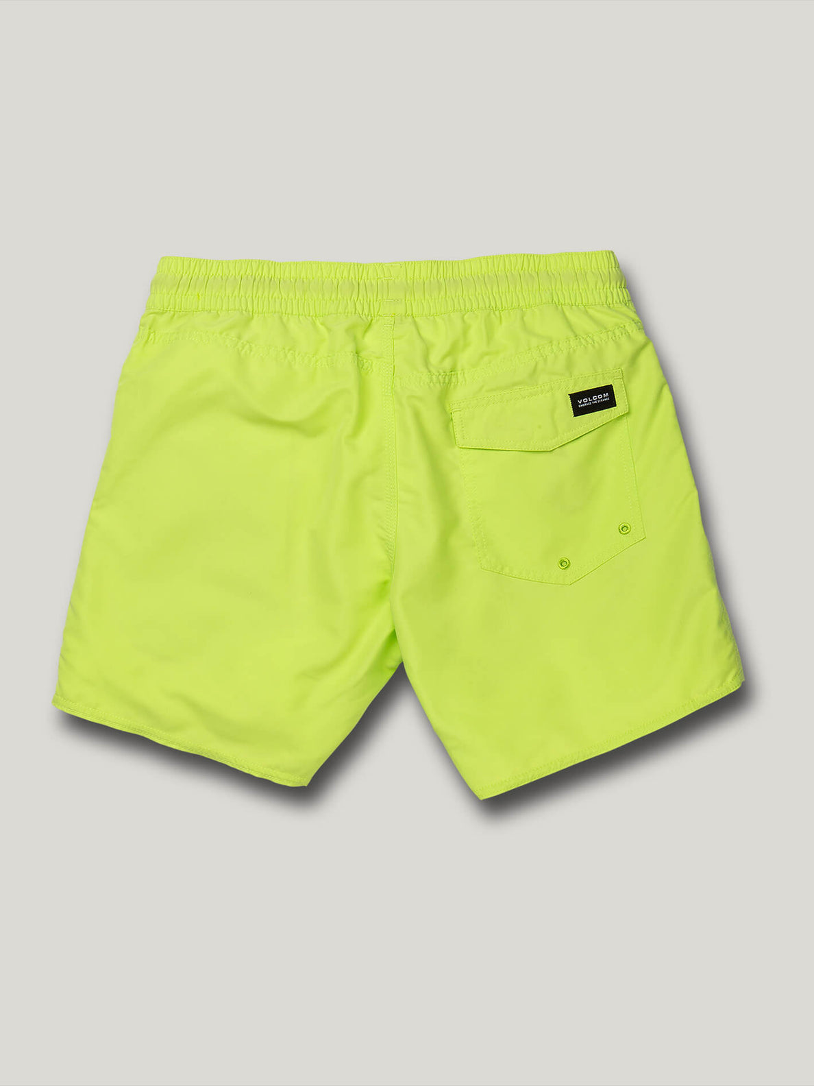 Lido Solid Trunks - Hilighter Green (A2512005_HIG) [B]