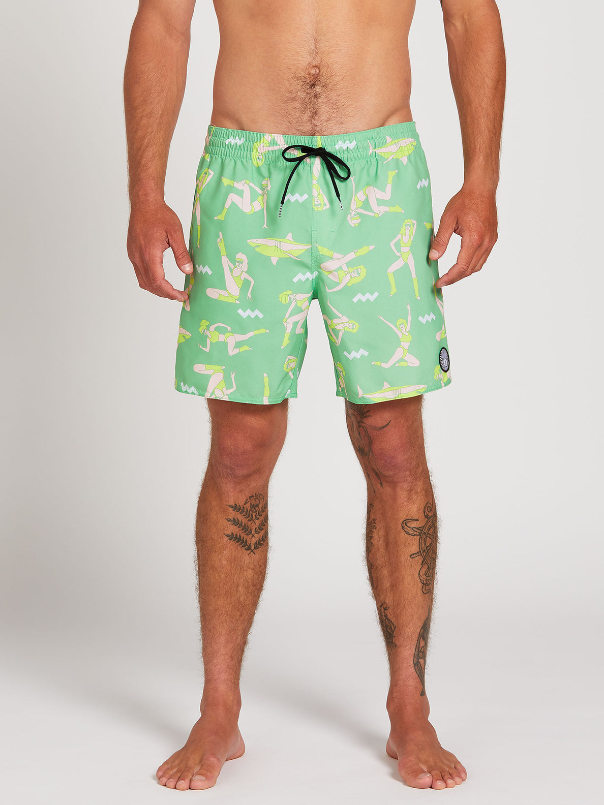 Sink Or Swim Trunks - Jade (A2522000_JDE) [1]