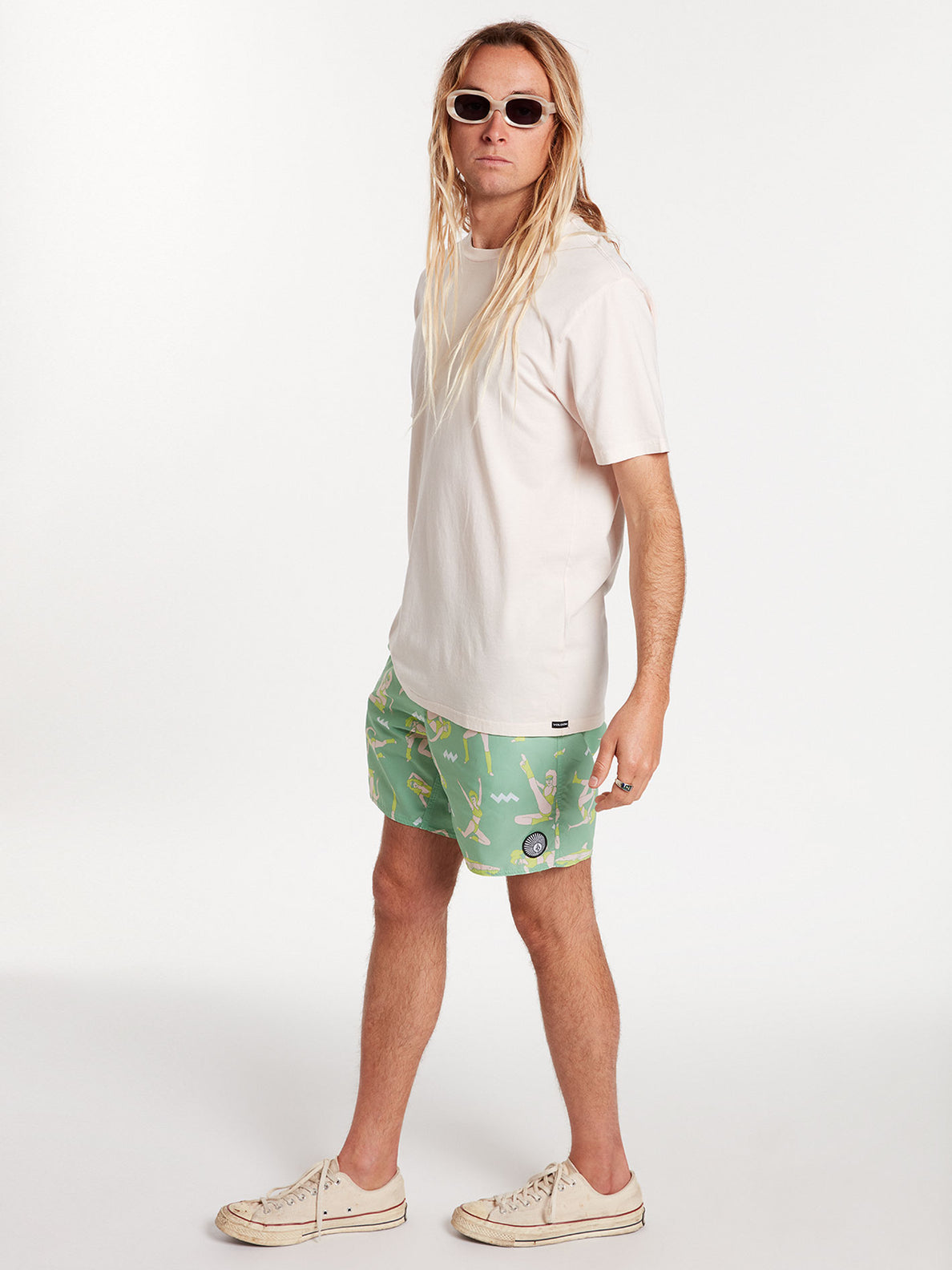 Sink Or Swim Trunks - Jade (A2522000_JDE) [24]