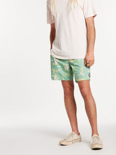 Sink Or Swim Trunks - Jade (A2522000_JDE) [25]