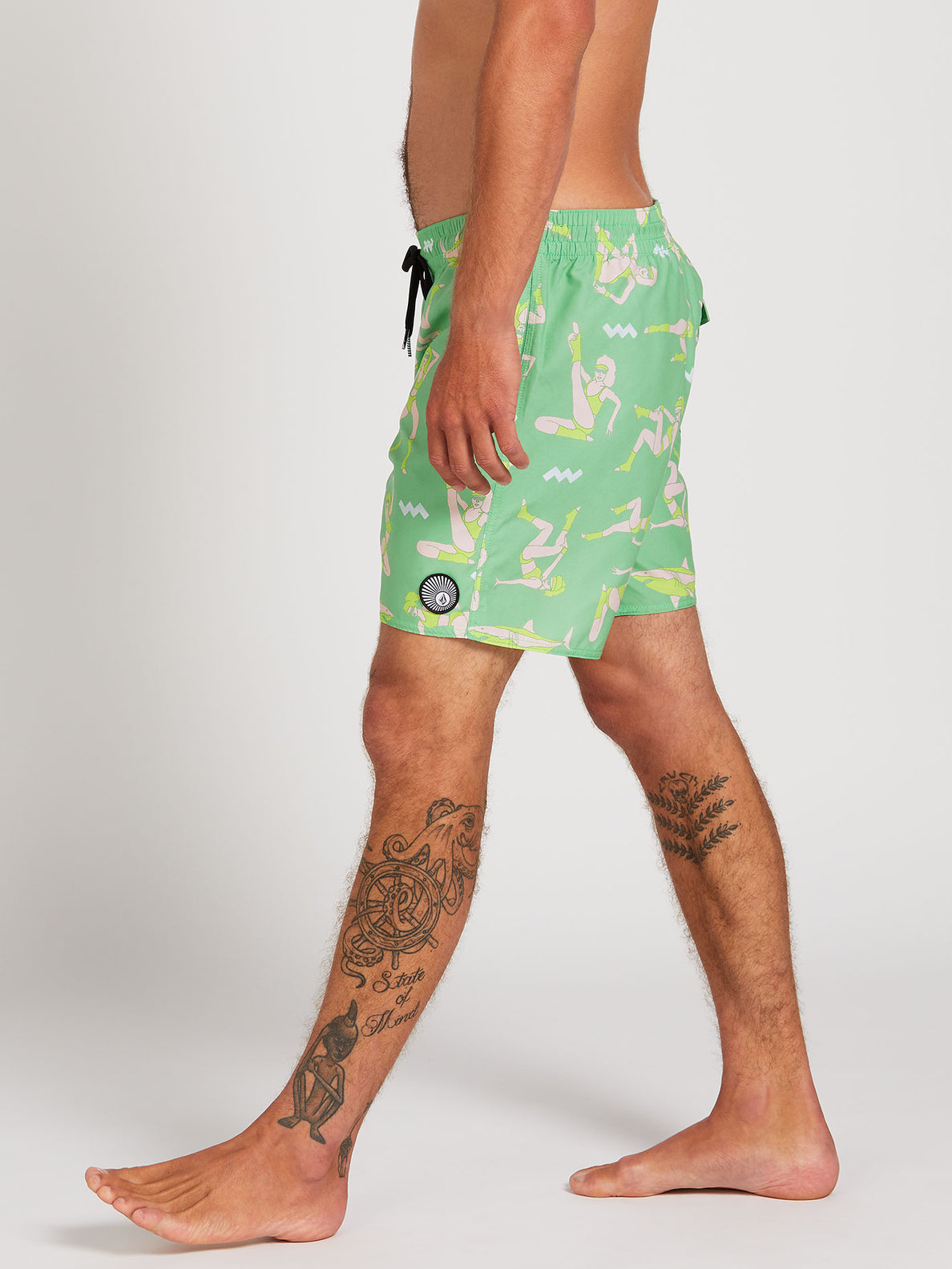 Sink Or Swim Trunks - Jade (A2522000_JDE) [3]