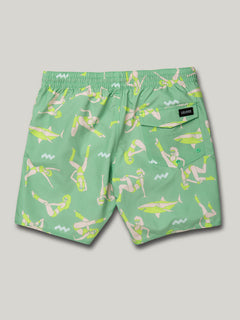 Sink Or Swim Trunks - Jade (A2522000_JDE) [B]