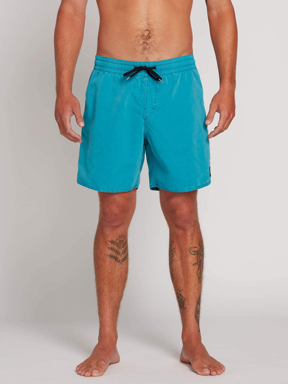 Volcom Mens Center 17 Surf Swim Trunks