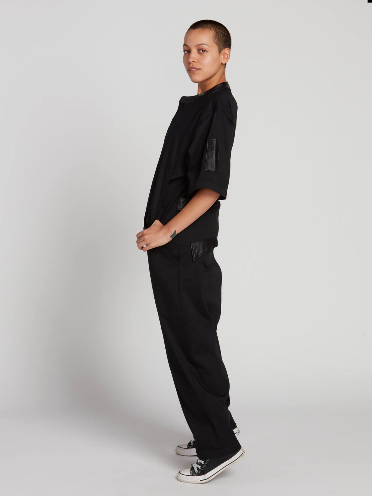 Rogan Gregory X Volcom Coverall In Black, Alternate View