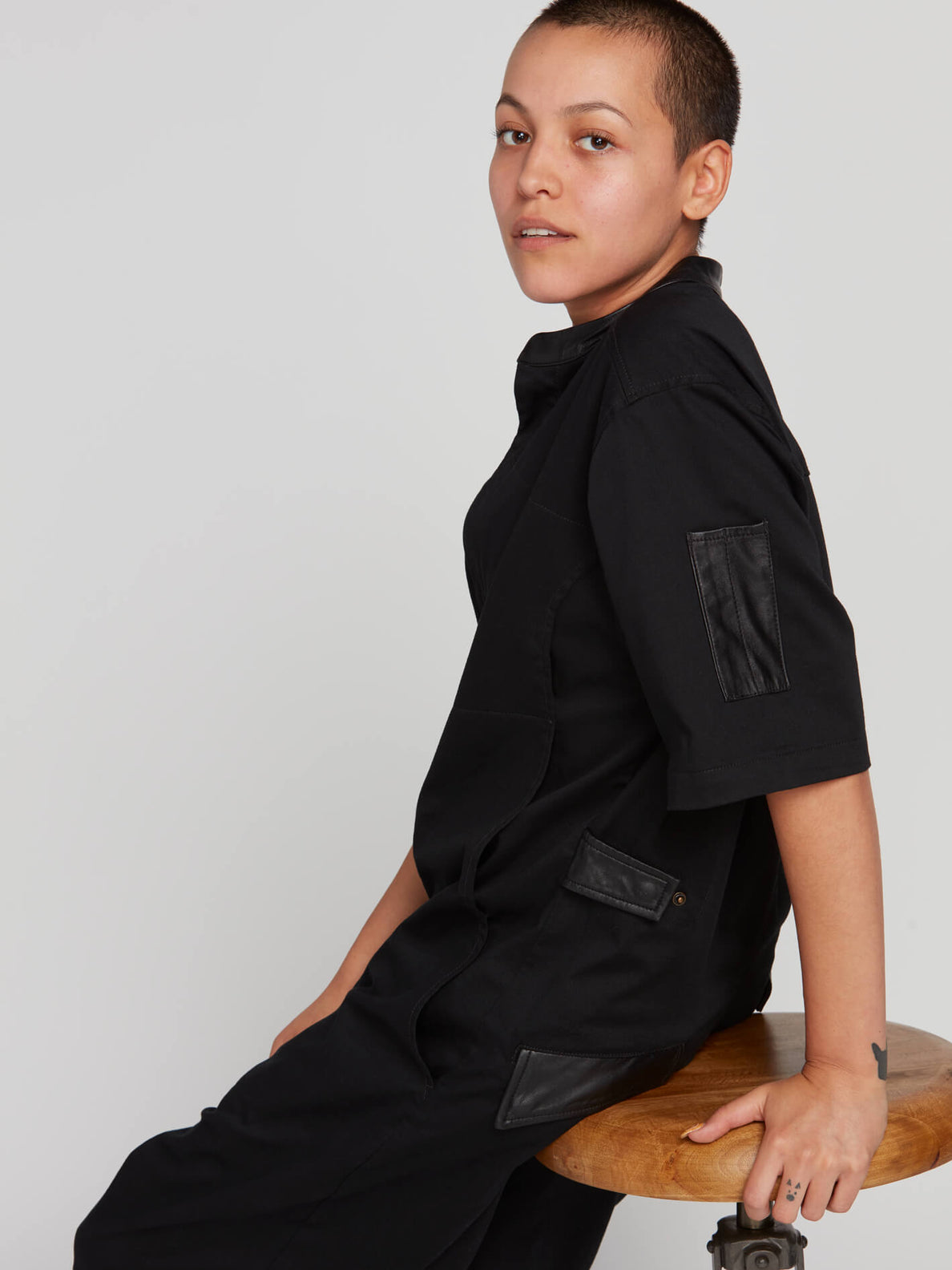 Rogan Gregory X Volcom Coverall In Black, Fourteenth Alternate View