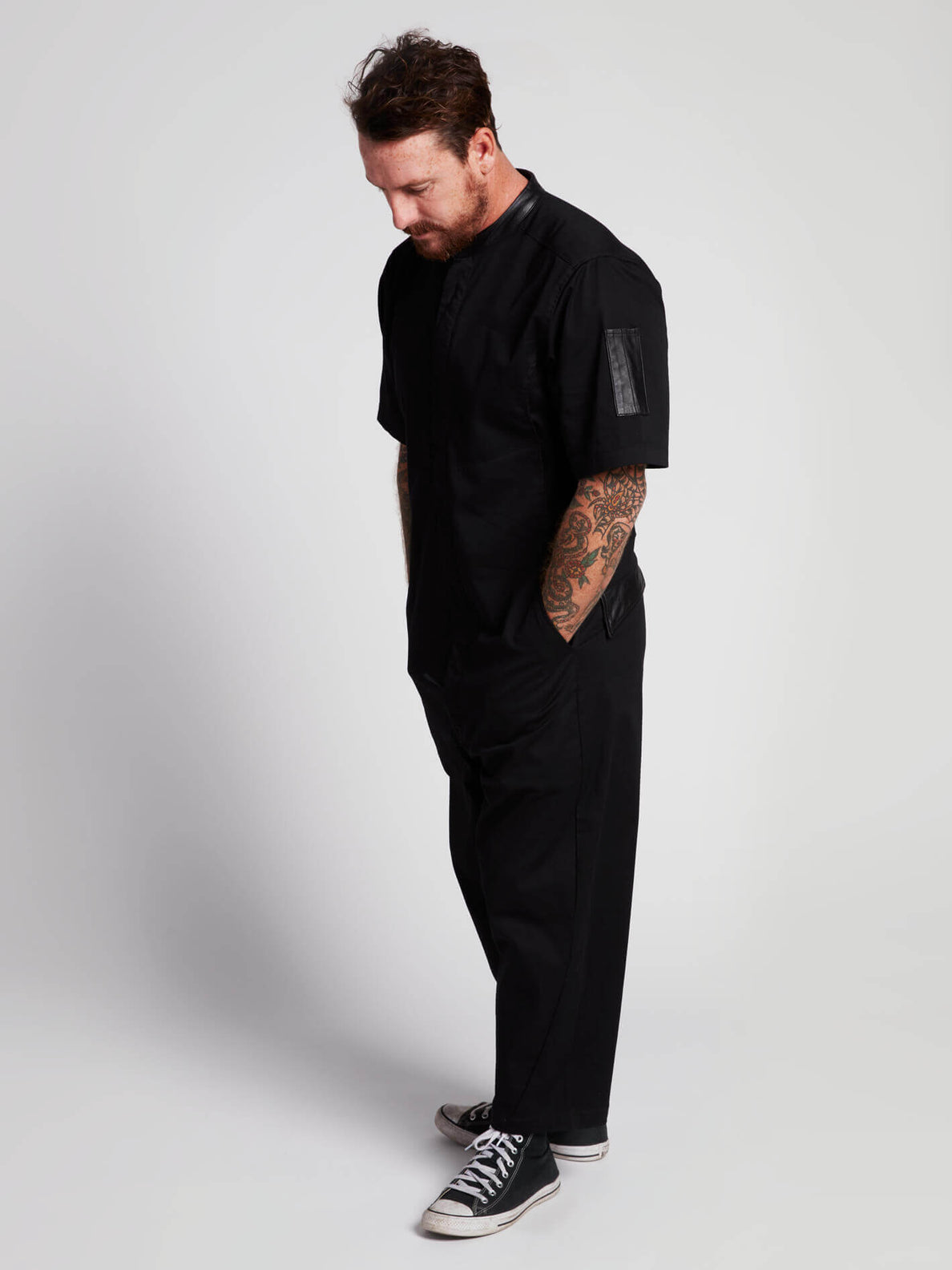 Rogan Gregory X Volcom Coverall In Black, Second Alternate View