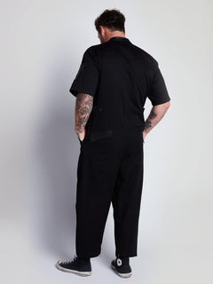 Rogan Gregory X Volcom Coverall In Black, Third Alternate View