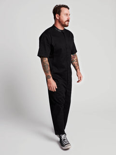 Rogan Gregory X Volcom Coverall In Black, Fourth Alternate View