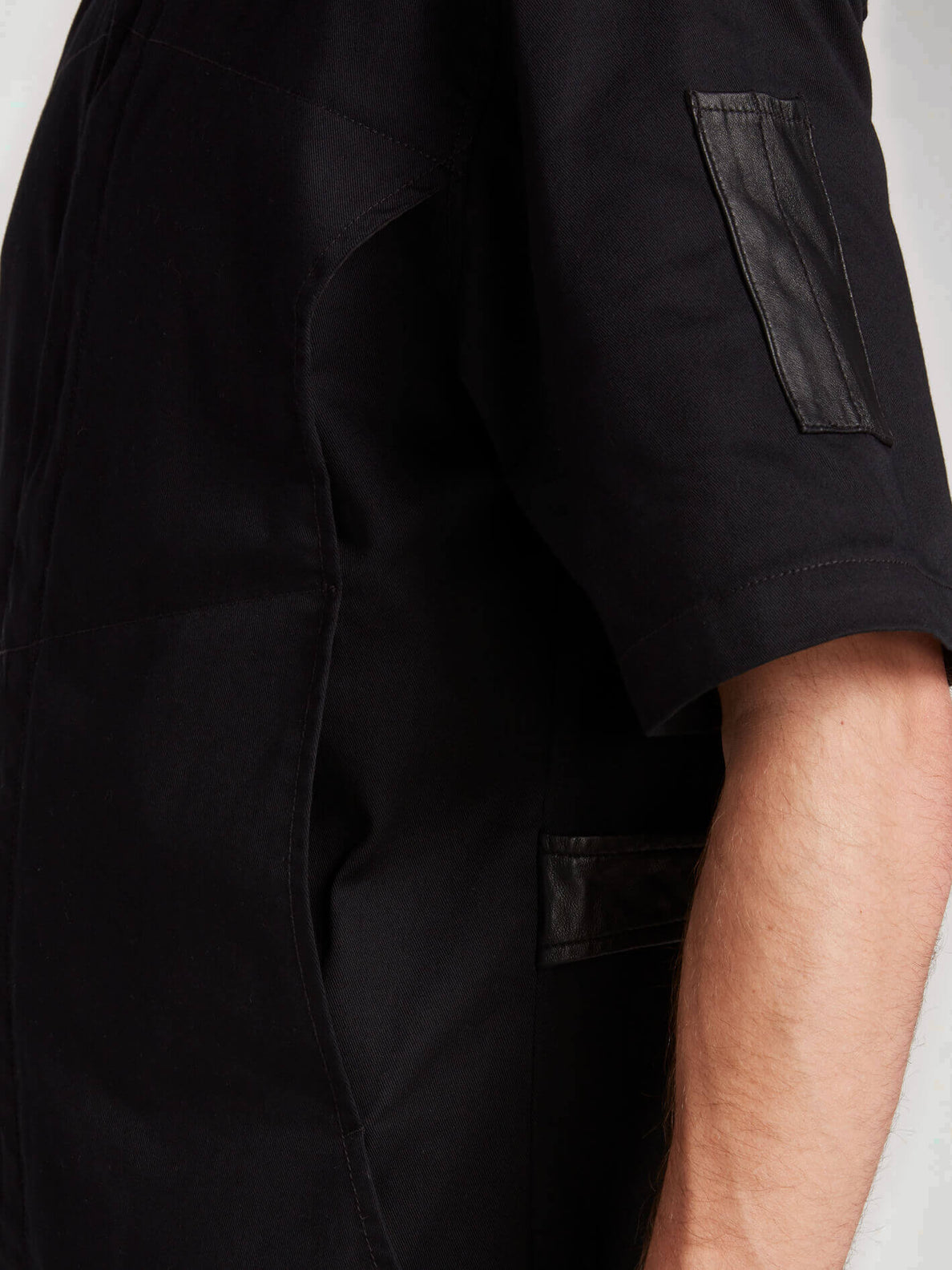 Rogan Gregory X Volcom Coverall In Black, Sixth Alternate View