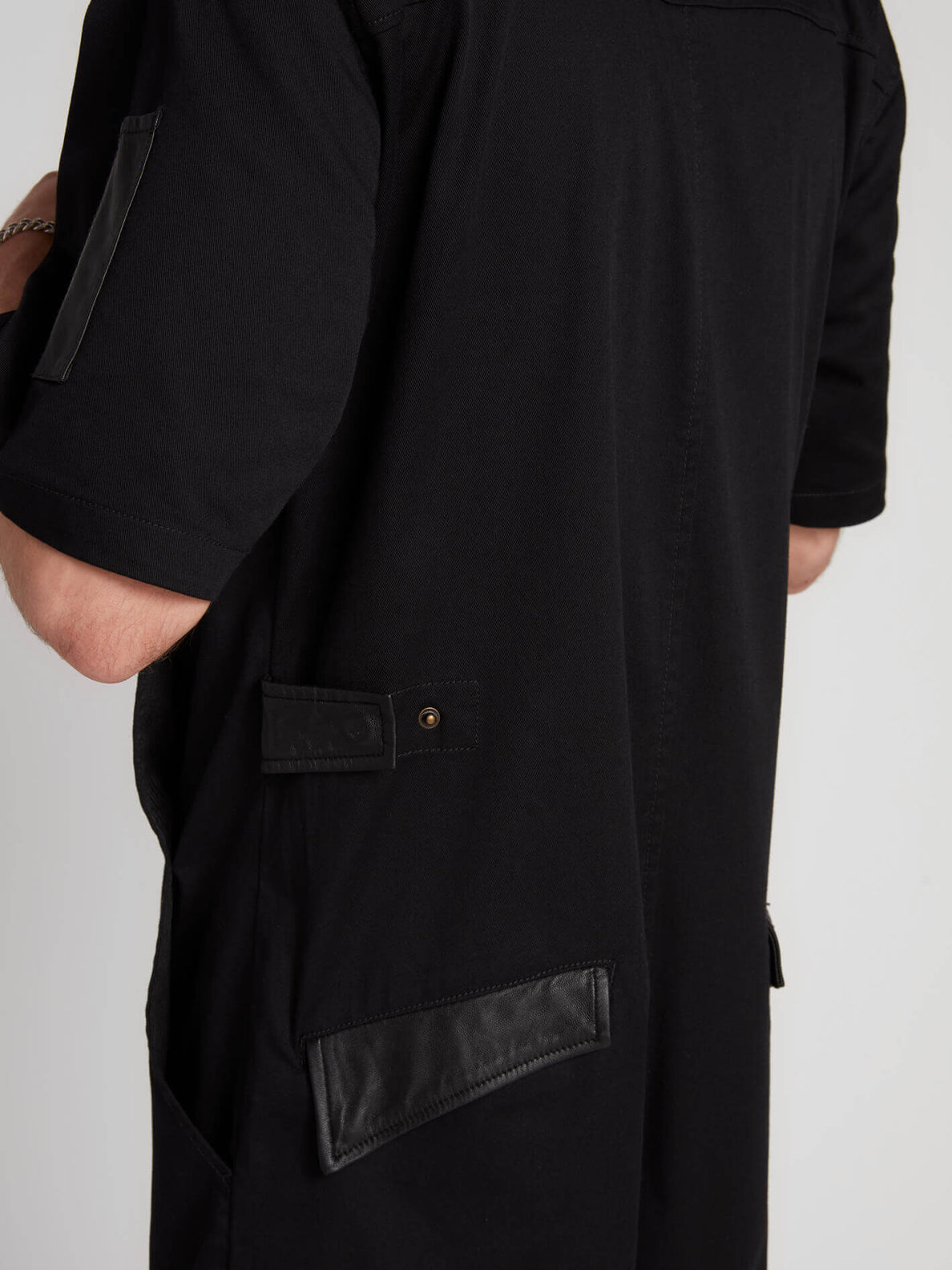 Rogan Gregory X Volcom Coverall In Black, Seventh Alternate View