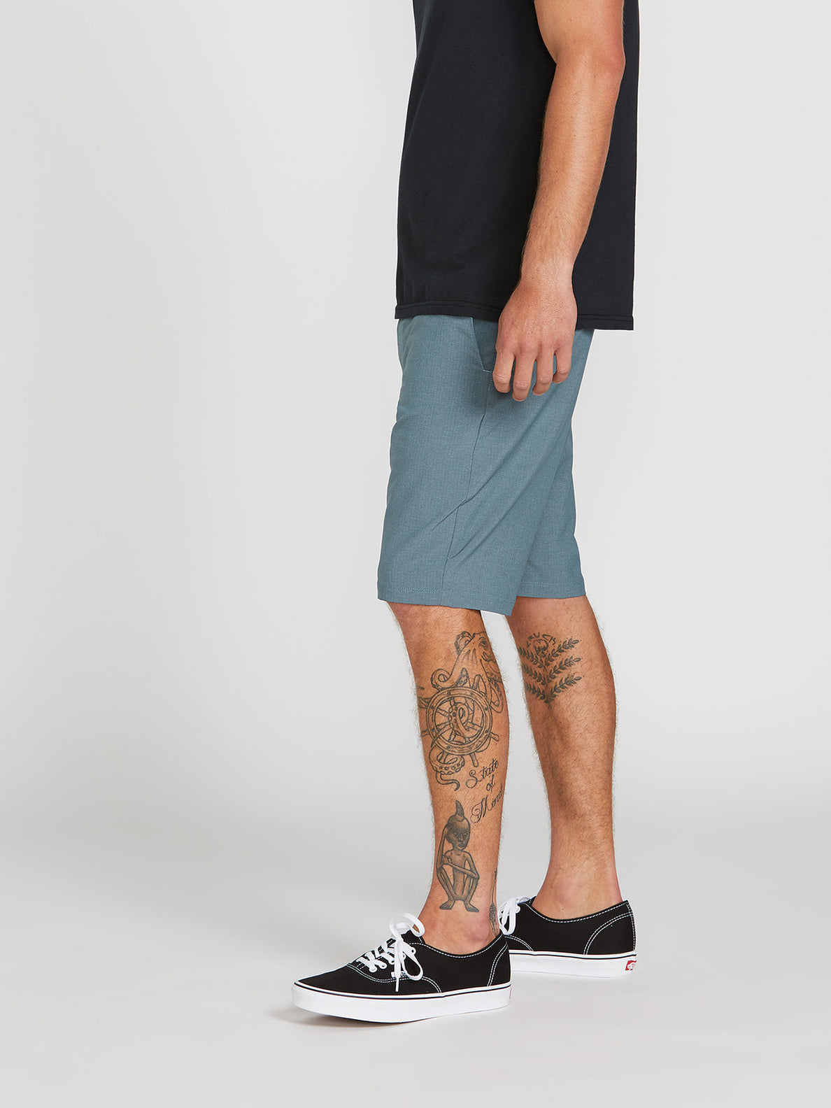 V Surf N' Turf Dry Hybrid Shorts - Airforce Blue