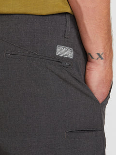 Kerosene Hybrid Shorts - Charcoal Heather