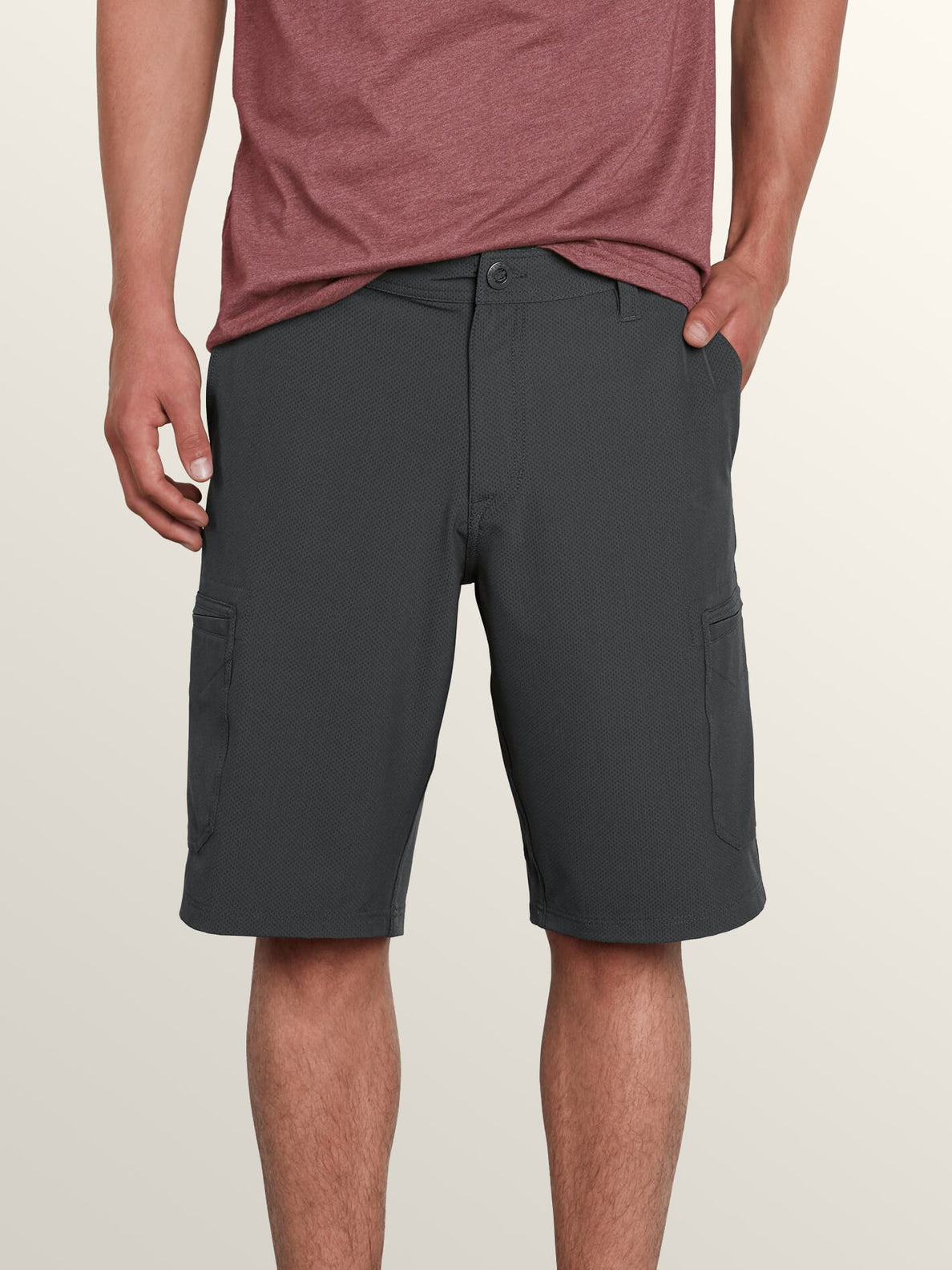 a09d8b79c9 Surf 'N Turf Dry Cargo Hybrid Shorts In Charcoal Heather, ...