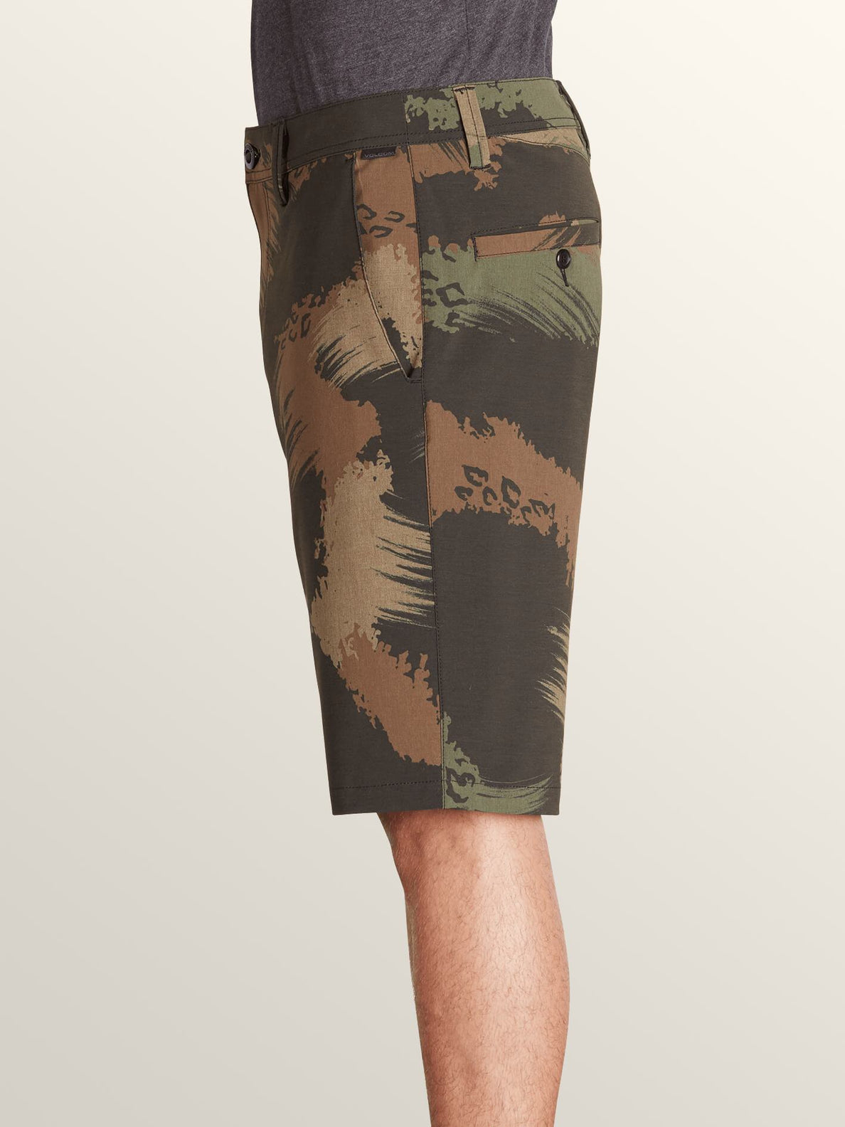 Frickin Surf N' Turf Mix Hybrid Shorts In Camouflage, Alternate View