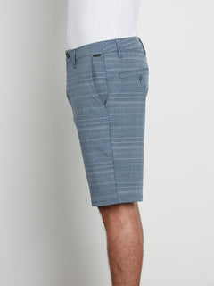 Frickin Surf N' Turf Mix Hybrid Shorts In Service Blue, Alternate View