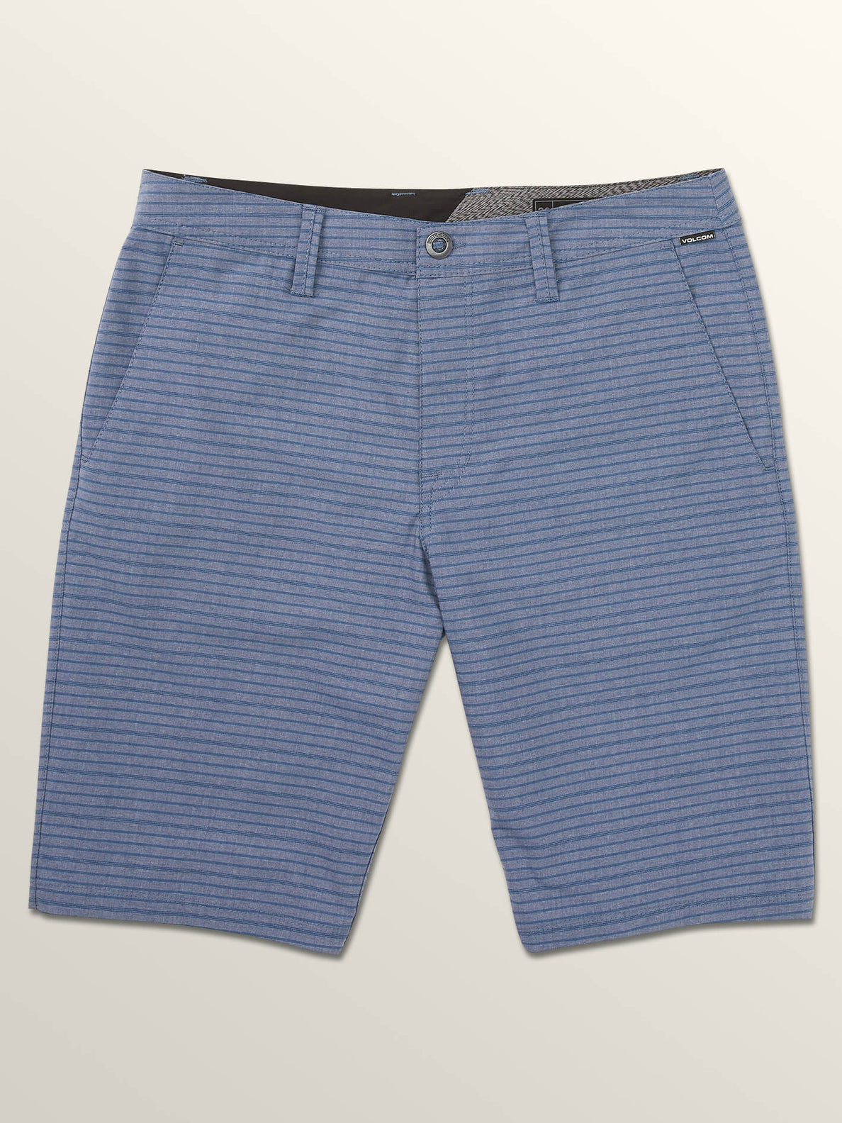 Frickin Surf N' Turf Mix Hybrid Shorts In Snow Vintage Navy, Third Alternate View