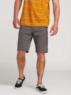 Frickin Surf N' Turf Static Hybrid Shorts - Charcoal Heather (A3211806_CHH) [1]