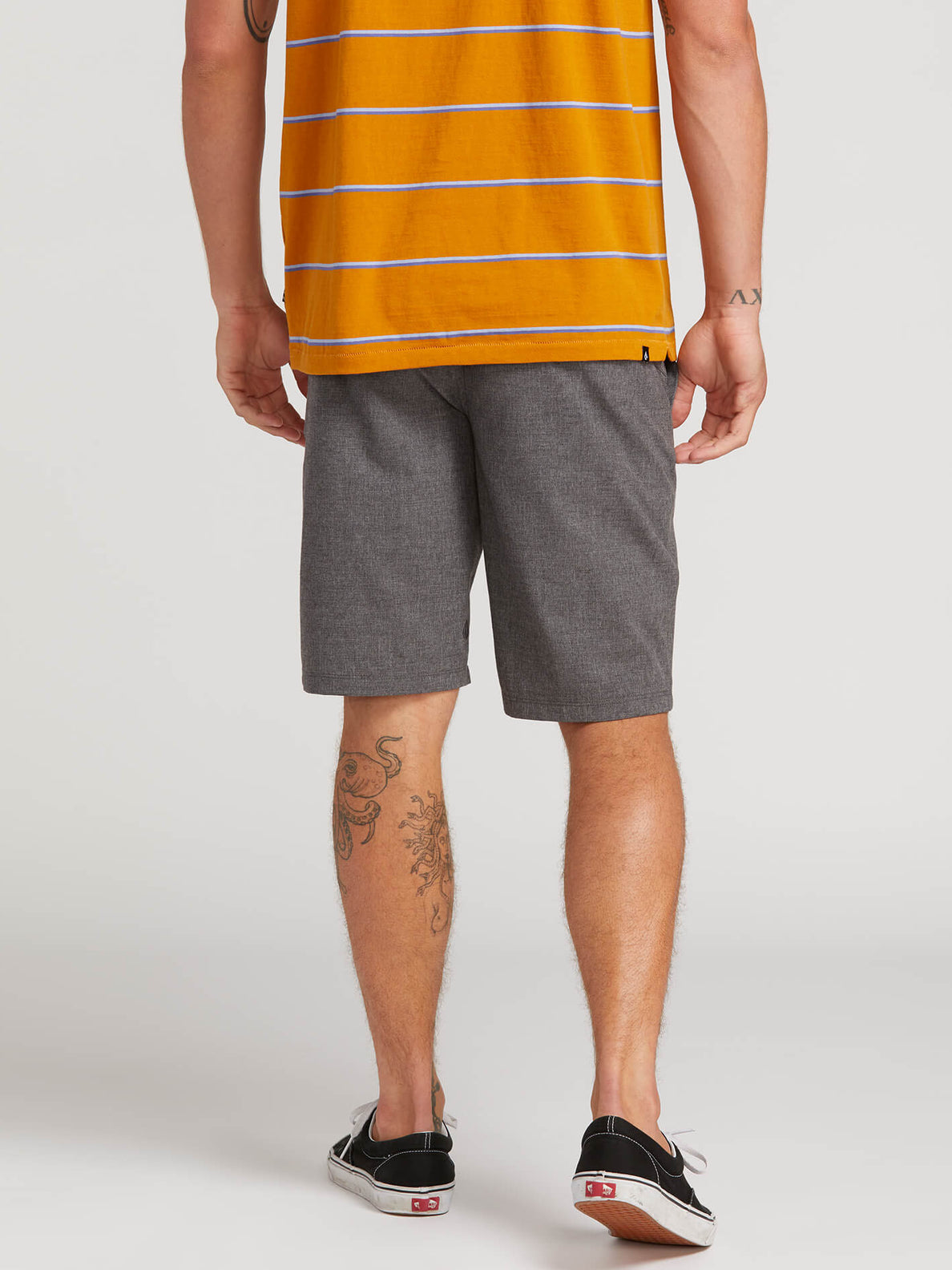 Frickin Surf N' Turf Static Hybrid Shorts - Charcoal Heather (A3211806_CHH) [2]