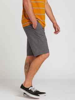 Frickin Surf N' Turf Static Hybrid Shorts - Charcoal Heather (A3211806_CHH) [3]
