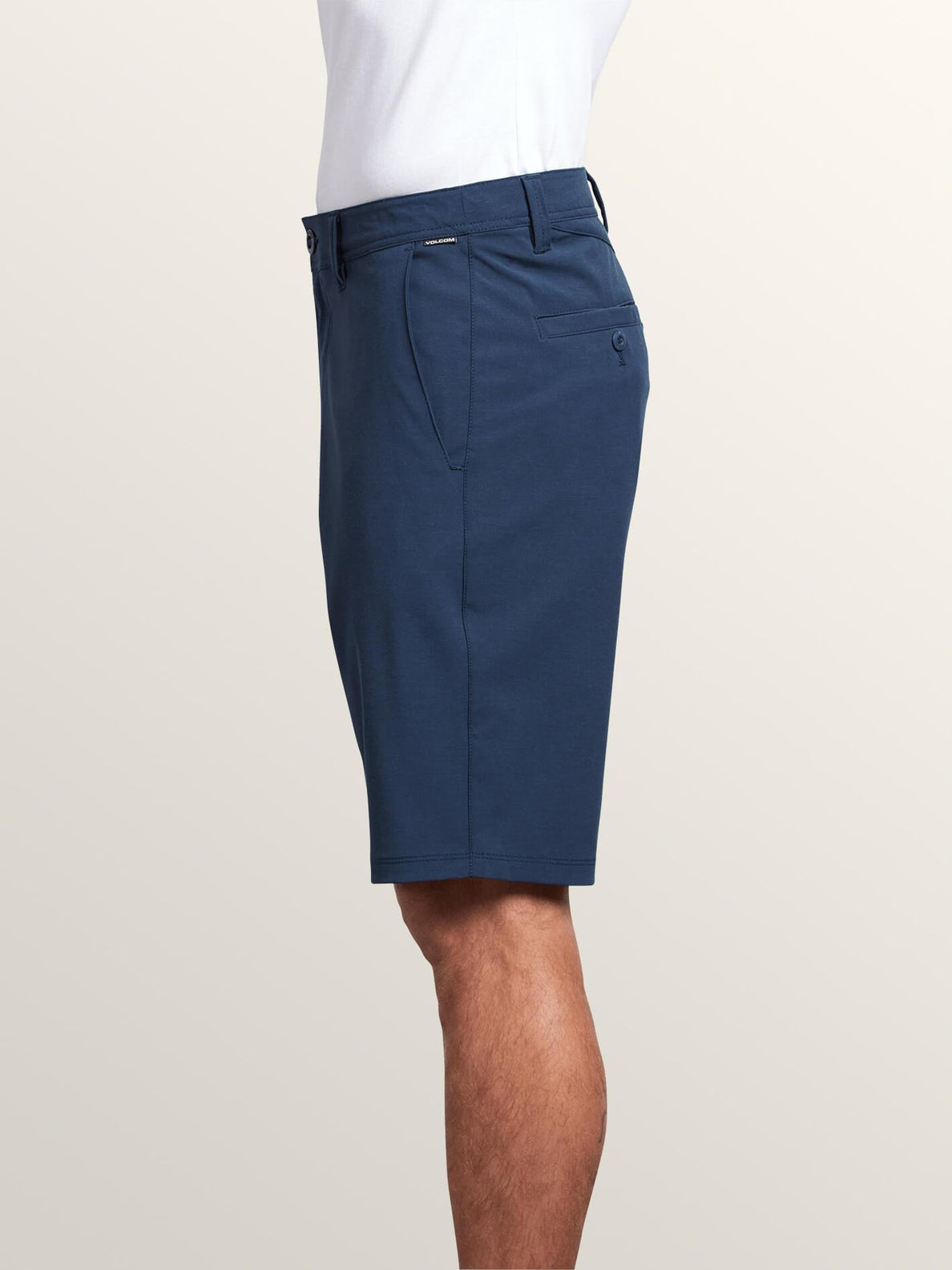 Frickin Surf N' Turf Static Hybrid Shorts In Navy, Alternate View