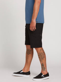 Surf N' Turf Dry Cargo Hybrid Shorts In Blackout, Alternate View