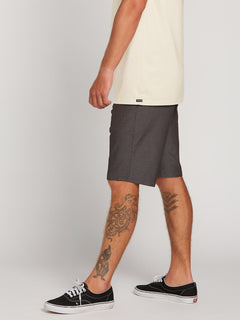Frickin Surf N' Turf Dry Hybrid Shorts In Charcoal Heather, Alternate View