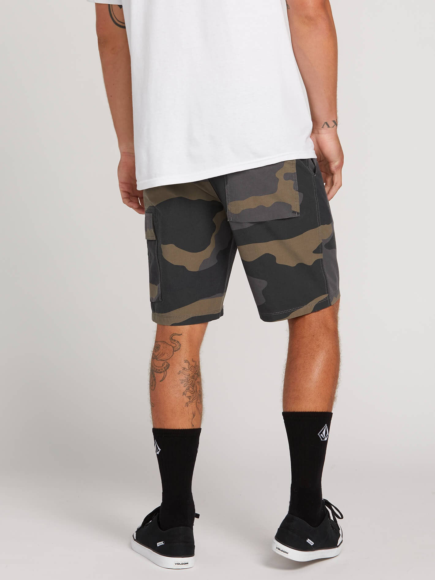 4420266d99 Surf N' Turf Yutes Hybrid Shorts - Dark Camo in DARK CAMO - Alternative View