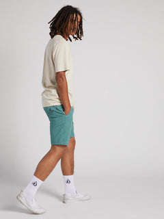 Surf N' Turf Faded Hybrid Shorts - Agave (A3211903_AGV) [6]
