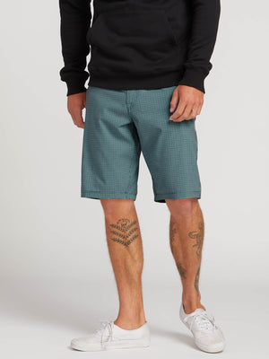 551e18241f Frickin Surf N' Turf Mix Hybrid Shorts - Blue in BLUE - Primary View