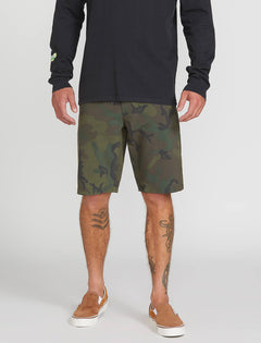 Frickin Surf N' Turf Mix Hybrid Shorts - Camouflage (A3211905_CAM) [1]