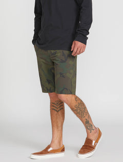 Frickin Surf N' Turf Mix Hybrid Shorts - Camouflage (A3211905_CAM) [3]