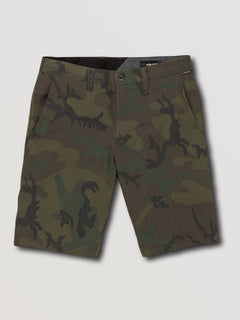 Frickin Surf N' Turf Mix Hybrid Shorts - Camouflage (A3211905_CAM) [F]