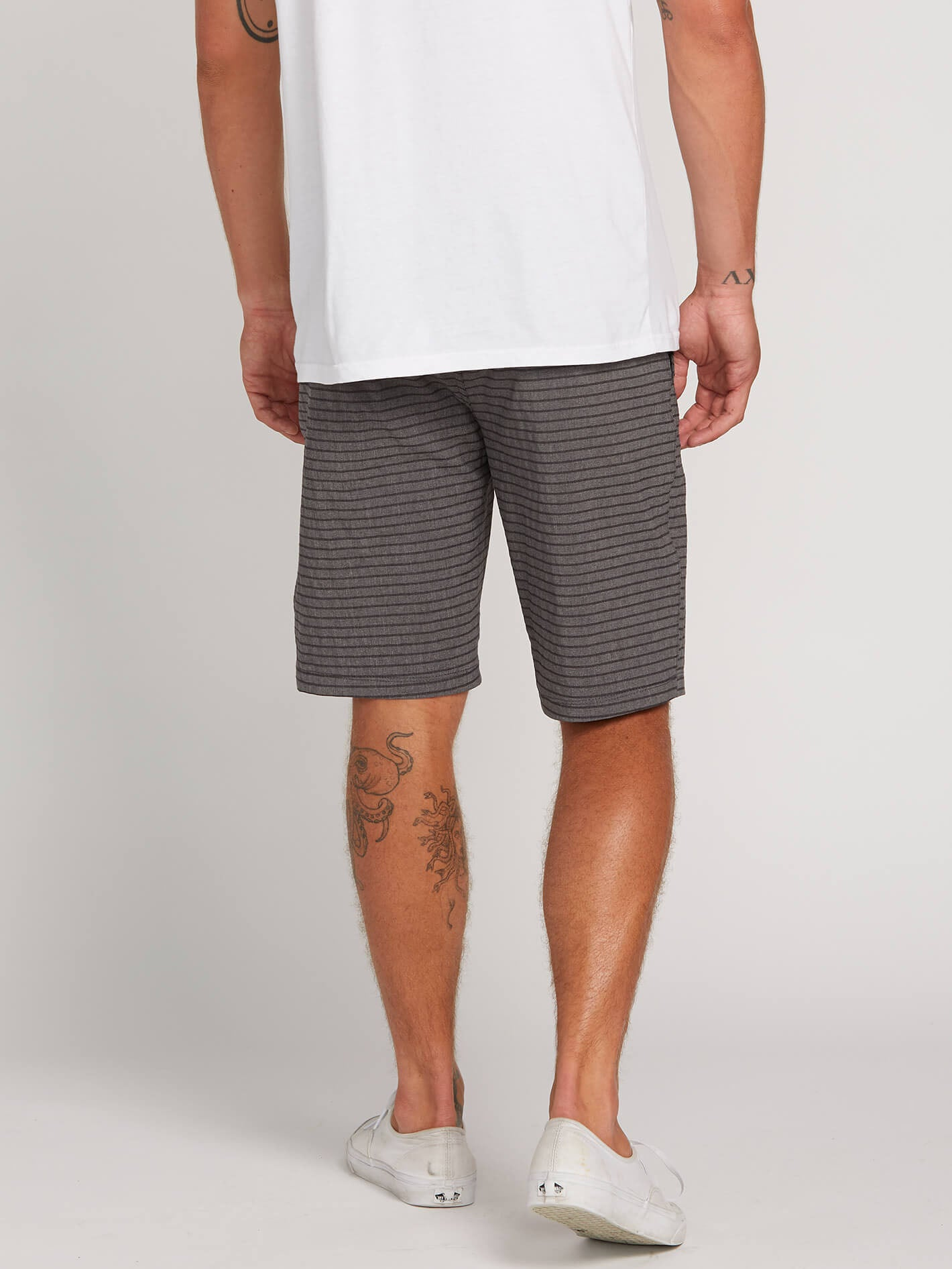 0356731e6 Frickin Surf N  Turf Mix Hybrid Shorts - Charcoal in CHARCOAL - Alternative  View