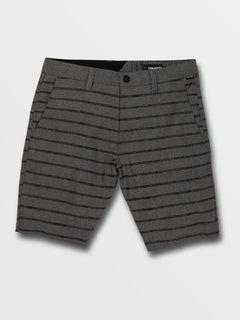 Frickin Surf N' Turf Mix Shorts - Black Out (A3212003_BKO) [F]