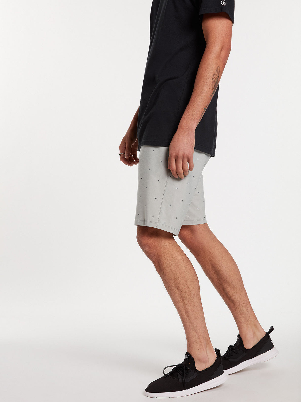 Frickin Surf N' Turf Mix Hybrid Shorts - Tower Grey (A3212003_TWR) [13]