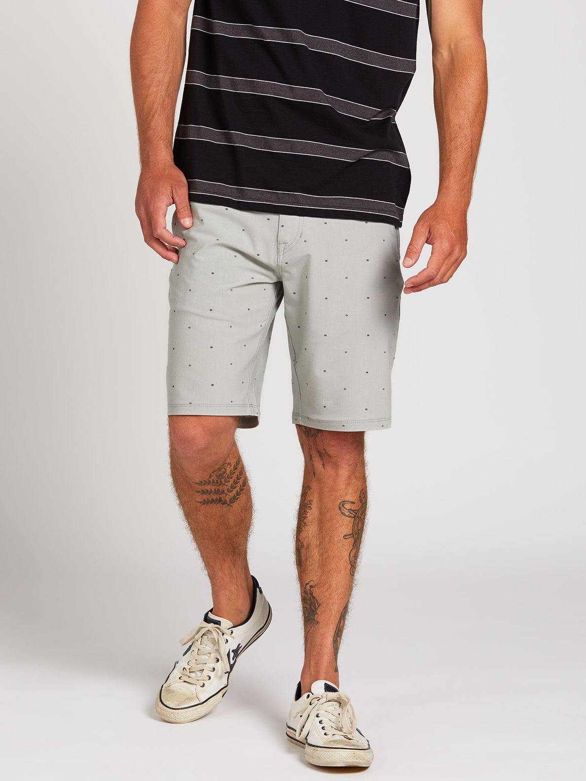 Frickin Surf N' Turf Mix Hybrid Shorts - Tower Grey (A3212003_TWR) [1]