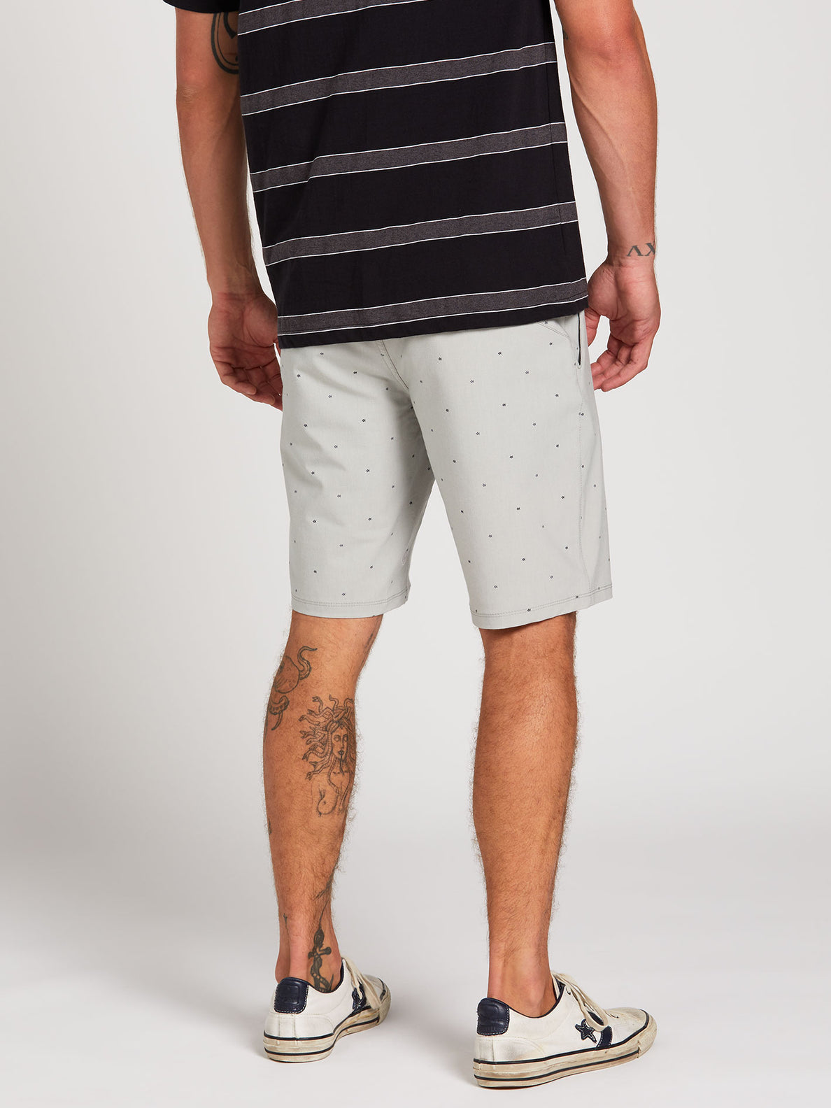 Frickin Surf N' Turf Mix Hybrid Shorts - Tower Grey (A3212003_TWR) [2]