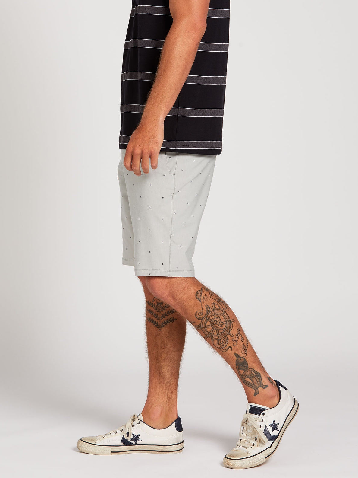 Frickin Surf N' Turf Mix Hybrid Shorts - Tower Grey (A3212003_TWR) [3]